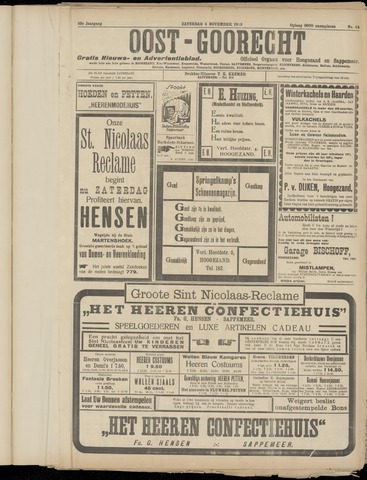(Volksblad) Oost-Goorecht en Omstreken nl 1933-11-04