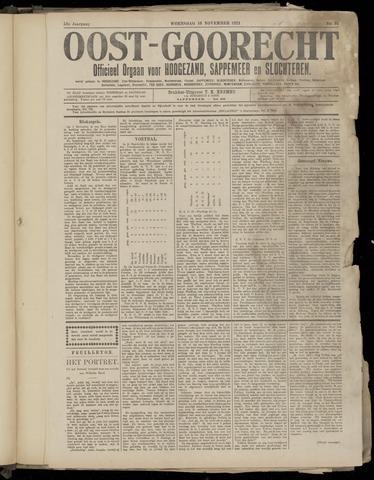 (Volksblad) Oost-Goorecht en Omstreken nl 1921-11-16