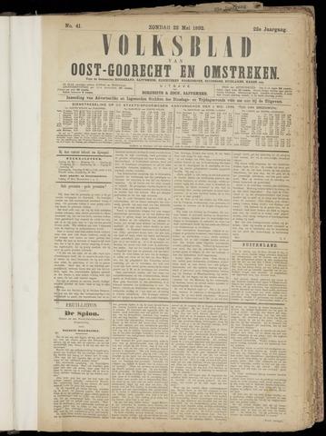 (Volksblad) Oost-Goorecht en Omstreken nl 1892-05-22
