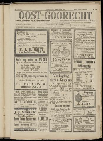 (Volksblad) Oost-Goorecht en Omstreken nl 1925-09-05