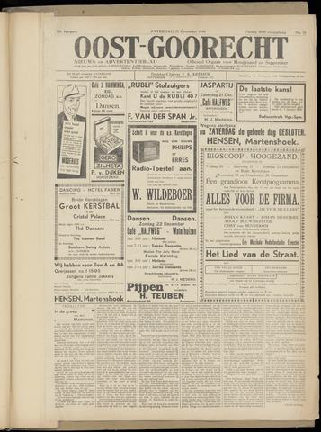 (Volksblad) Oost-Goorecht en Omstreken nl 1940-12-21