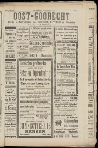 (Volksblad) Oost-Goorecht en Omstreken nl 1939-08-05