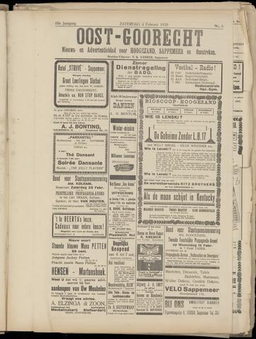 (Volksblad) Oost-Goorecht en Omstreken nl 1939-02-04
