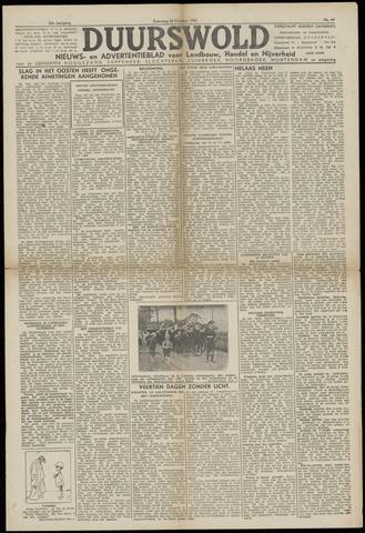Nieuws- en Advertentieblad, Duurswold nl 1943-10-30