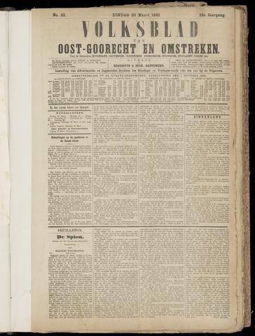 (Volksblad) Oost-Goorecht en Omstreken nl 1892-03-20