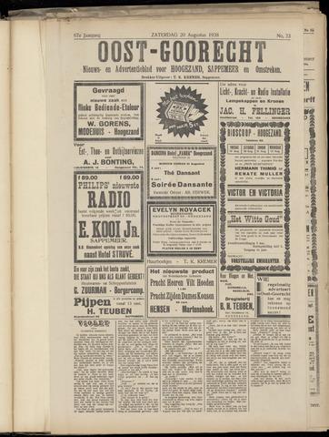 (Volksblad) Oost-Goorecht en Omstreken nl 1938-08-20