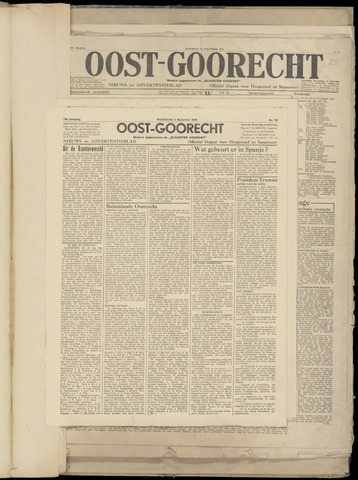 (Volksblad) Oost-Goorecht en Omstreken nl 1945-09-05
