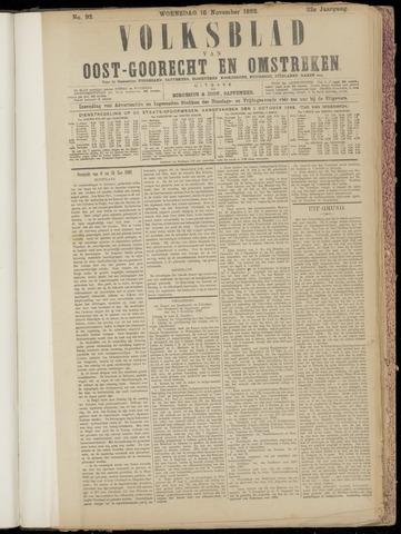 (Volksblad) Oost-Goorecht en Omstreken nl 1892-11-16