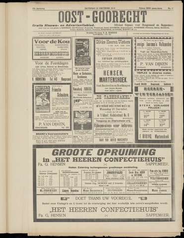 (Volksblad) Oost-Goorecht en Omstreken nl 1933-12-16