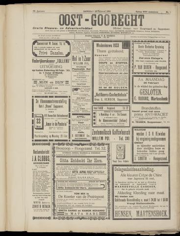 (Volksblad) Oost-Goorecht en Omstreken nl 1933-02-18