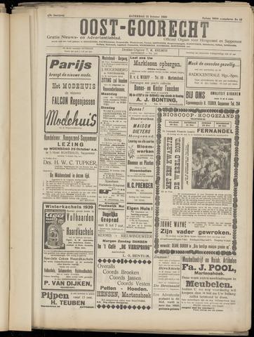 (Volksblad) Oost-Goorecht en Omstreken nl 1939-10-21