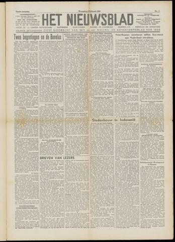 Het Nieuwsblad nl 1949-02-09