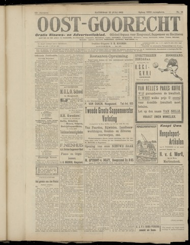 (Volksblad) Oost-Goorecht en Omstreken nl 1922-07-22