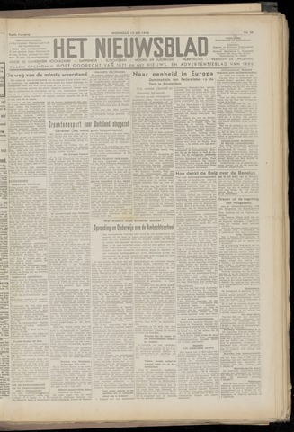 Het Nieuwsblad nl 1948-05-12