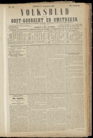 (Volksblad) Oost-Goorecht en Omstreken nl 1892-08-14