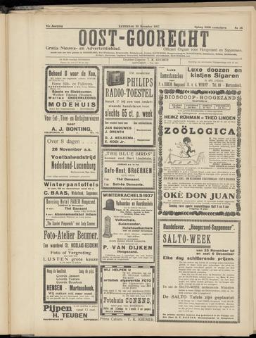 (Volksblad) Oost-Goorecht en Omstreken nl 1937-11-20