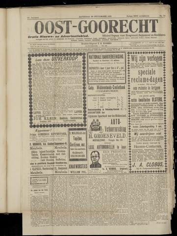 (Volksblad) Oost-Goorecht en Omstreken nl 1922-09-30