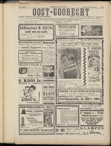 (Volksblad) Oost-Goorecht en Omstreken nl 1937-10-02