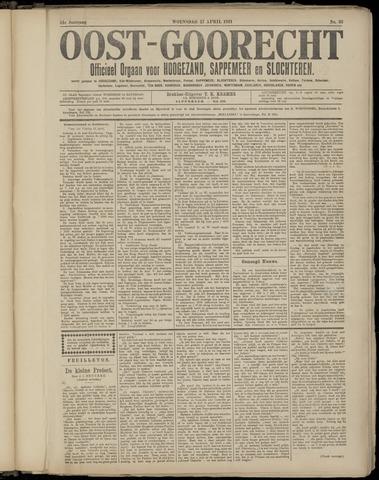 (Volksblad) Oost-Goorecht en Omstreken nl 1921-04-27