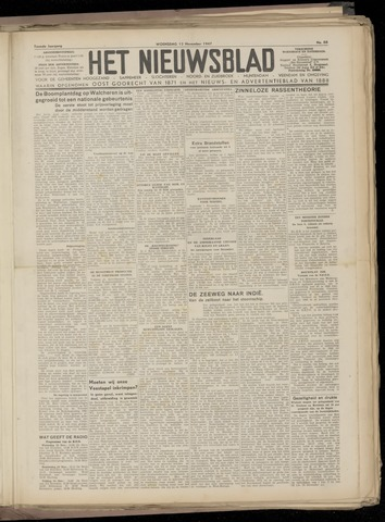 Het Nieuwsblad nl 1947-11-12