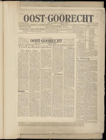 (Volksblad) Oost-Goorecht en Omstreken nl 1945-10-31