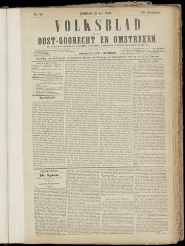 (Volksblad) Oost-Goorecht en Omstreken nl 1892-07-10