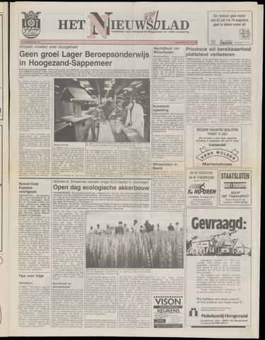 Het Nieuwsblad nl 1991-07-18