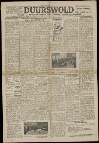 Nieuws- en Advertentieblad, Duurswold nl 1943-05-08