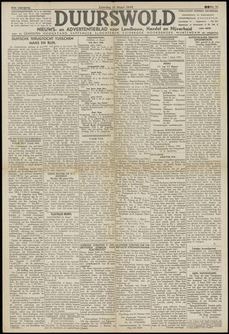 Nieuws- en Advertentieblad, Duurswold nl 1945-03-10