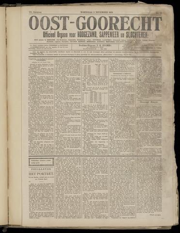 (Volksblad) Oost-Goorecht en Omstreken nl 1921-11-02