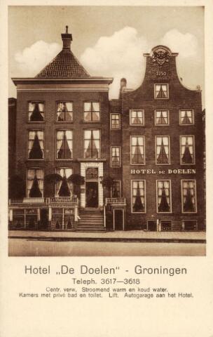 Hotel De Doelen Groningen Grote Markt Zuidzijde