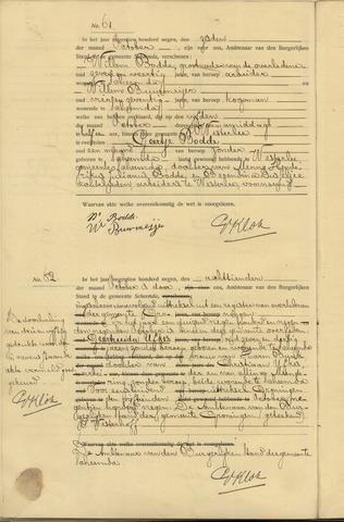 Death Geertruida Ufkes on October 9, 1909 in Groningen