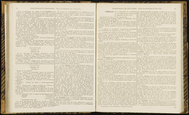 Raadsverslagen van de gemeente Leeuwarden, 1865-2007 (Notulen) 1870-06-23