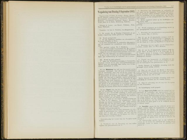 Raadsverslagen van de gemeente Leeuwarden, 1865-2007 (Notulen) 1902-09-09