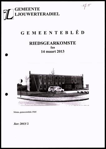 Notulen van de gemeenteraad van Leeuwarderadeel 2013-03-14