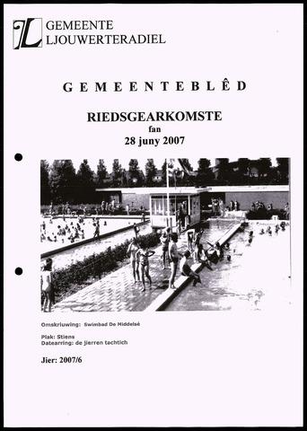 Notulen van de gemeenteraad van Leeuwarderadeel 2007-06-28