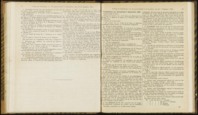 Raadsverslagen van de gemeente Leeuwarden, 1865-2007 (Notulen) 1882-09-07