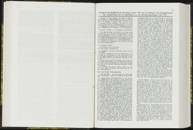 Raadsverslagen van de gemeente Leeuwarden, 1865-2007 (Notulen) 1971-03-03