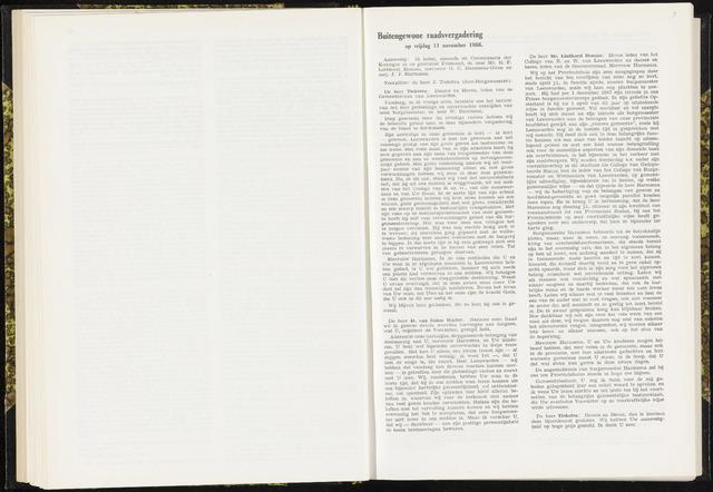 Raadsverslagen van de gemeente Leeuwarden, 1865-2007 (Notulen) 1966-11-11