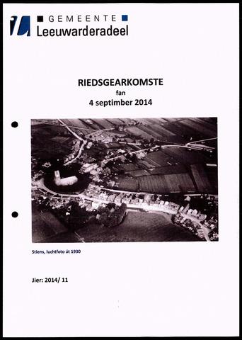 Notulen van de gemeenteraad van Leeuwarderadeel 2014-09-04