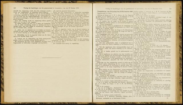 Raadsverslagen van de gemeente Leeuwarden, 1865-2007 (Notulen) 1885-11-10