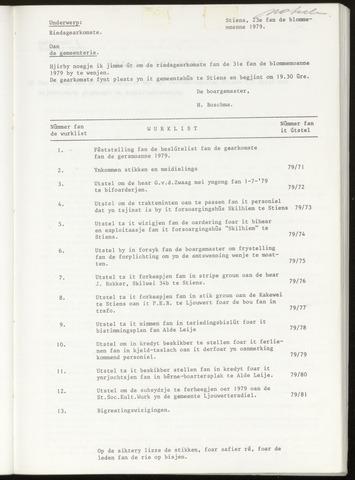 Notulen van de gemeenteraad van Leeuwarderadeel 1979-05-31