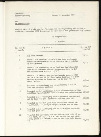 Notulen van de gemeenteraad van Leeuwarderadeel 1976-12-02