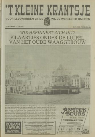 't Kleine Krantsje, 1964-1997 1982-09-11