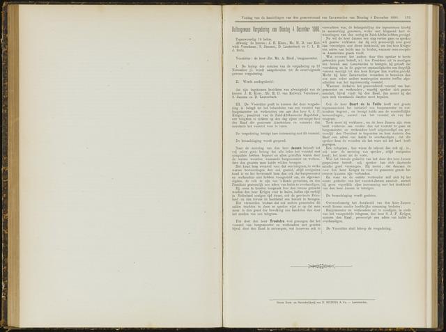 Raadsverslagen van de gemeente Leeuwarden, 1865-2007 (Notulen) 1900-12-04