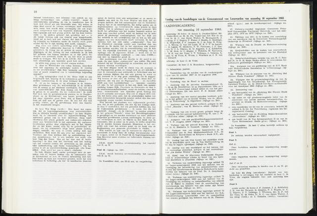 Raadsverslagen van de gemeente Leeuwarden, 1865-2007 (Notulen) 1968-09-16
