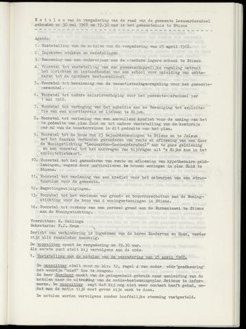 Notulen van de gemeenteraad van Leeuwarderadeel 1968-05-30
