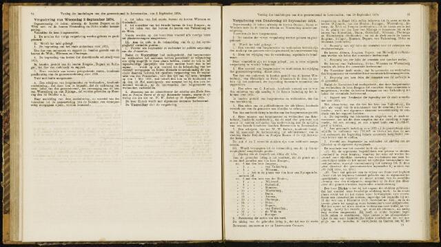 Raadsverslagen van de gemeente Leeuwarden, 1865-2007 (Notulen) 1874-09-02