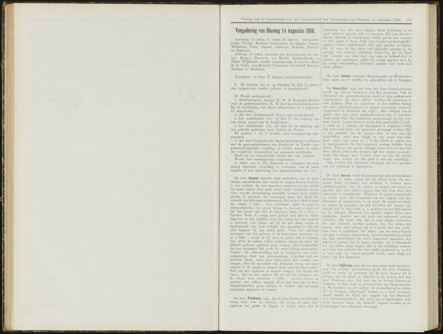 Raadsverslagen van de gemeente Leeuwarden, 1865-2007 (Notulen) 1906-08-14