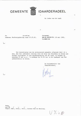 raadsverslagen Idaarderadeel 1935-1983 1981-05-25
